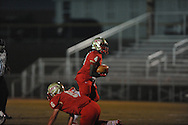 Lafayette High's Brandon Mack (4) vs. Duval Charter in Oxford, Miss. on Friday, September 7, 2012. Lafayette High won 69-0.