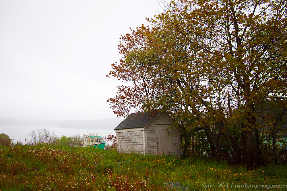 North America, Canada, Nova Scotia, Guysborough. A tranquil scene of rural Guysborough.