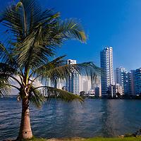 """View of """"Boca Grande"""" in  """"Cartagena de indias"""" Colombia"""