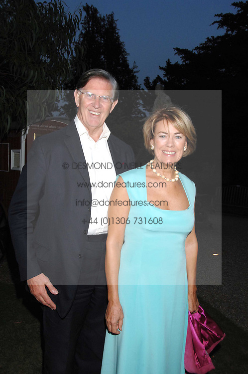 MR &amp; MRS BILL CASH MP at a party to celebrate the 100th issue of Waitrose's Food Illustrated magazine held at The Physic Garden, Chelsea, London on 13th September 2007.<br /><br />NON EXCLUSIVE - WORLD RIGHTS