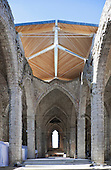 St.Nicolai church ruins, Visby, Gotland, Sweden (Concert Hall Construction)