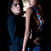After The Fashion Model Shoot in New York Rooftop Loft on August 18, 2007