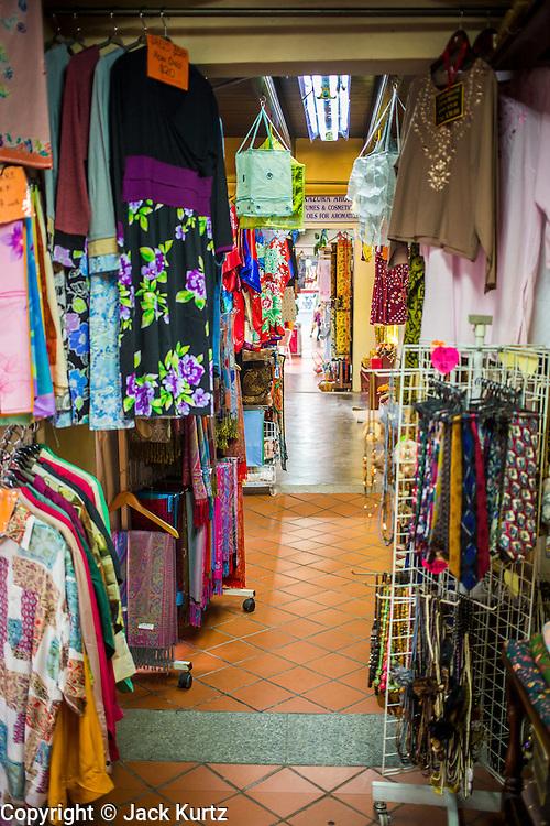 17 DECEMBER 2012 - SINGAPORE, SINGAPORE: A shopping arcade on Arab Street in Singapore.       PHOTO BY JACK KURTZ