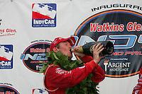 Scott Dixon wins at Watkins Glen International, Watkins Glen Indy Grand Prix, September 25, 2005