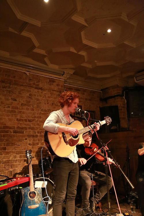 Joe Jury & band at Paradise by Way of Kensal Green on the 15th February 2015.