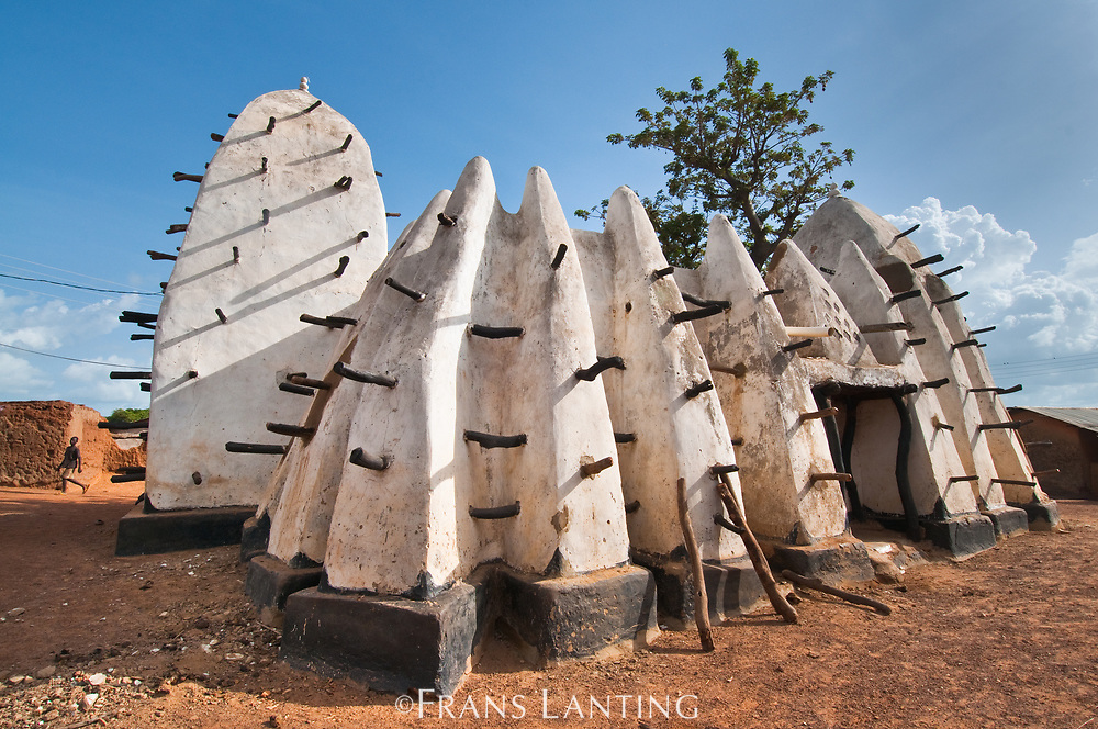 Ancient mosque, Larabanga, Ghana