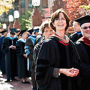 10/21/2011 - Medford/Somerville, Mass. The Inauguration Ceremony of Tufts University's thirteenth president, Anthony P. Monaco on Friday, October 21, 2011.   (Alonso Nichols/Tufts University)