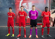 140410 Liverpool FC Kit Launch 2014/15