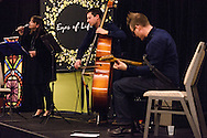 Musician Erin Bode and her group performs at the 2017 LCMS Life Conference on Saturday night, Jan. 28, 2017, in Arlington, Va. LCMS Communications/Erik M. Lunsford