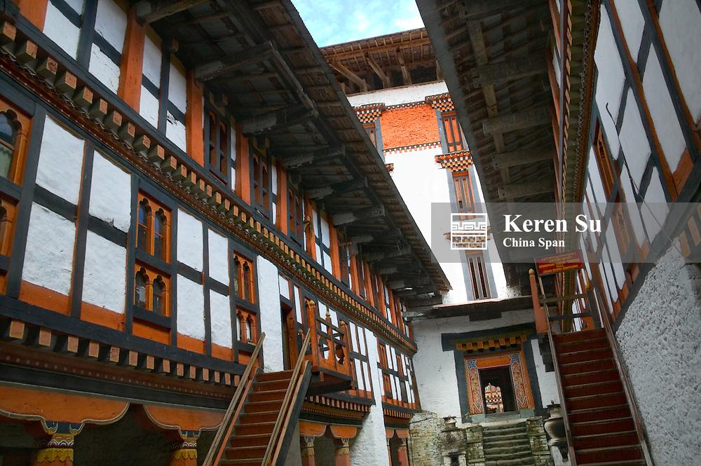 Jambay Lhakhang Dzong, Bumthang, Bhutan