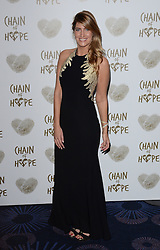 Francesca Hull attends The Chain Of Hope Ball at The Grosvenor House Hotel on Friday 21st November 2014