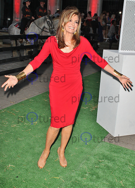 LONDON - August 21: Linda Gray at the Channel 5 Dallas Launch Party (Photo by Brett D. Cove)