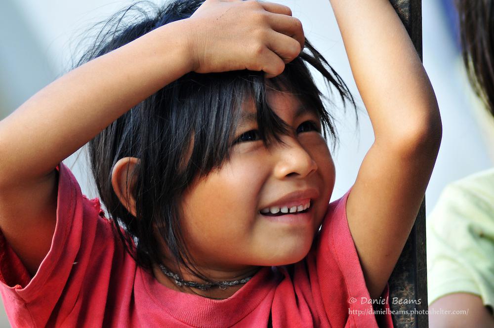 Yuracare girl near San Lorenzo, Beni, Bolivia