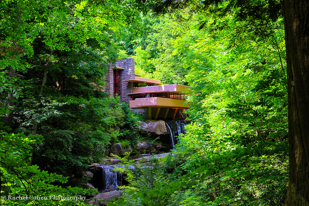 &quot;Shadows of Brilliance&quot;<br /> <br /> Beautiful Fallingwater in the Laurel Highlands of Pennsylvania!!<br /> <br /> Architecture: Structures and buildings by Rachel Cohen