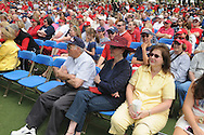 Grove Bowl pre-game activities in the Grove at the University of Mississippi in Oxford, Miss. on Saturday, April 17, 2010.