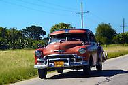 Old Chevrolet in Yara, Granma Province, Cuba.