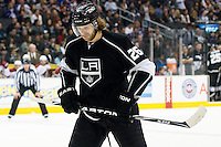 Michal Handzus (Los Angeles Kings, #26) during ice-hockey match between Los Angeles Kings and Phoenix Coyotes in NHL league, March 3, 2011 at Staples Center, Los Angeles, USA. (Photo By Matic Klansek Velej / Sportida.com)