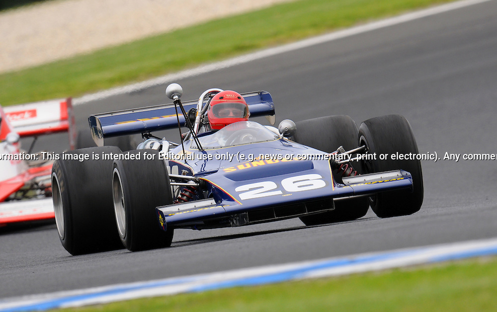 Robert Harborow - Lola T192 - F5000.Historic Motorsport Racing - Phillip Island Classic.18th March 2011.Phillip Island Racetrack, Phillip Island, Victoria.(C) Joel Strickland Photographics.Use information: This image is intended for Editorial use only (e.g. news or commentary, print or electronic). Any commercial or promotional use requires additional clearance.