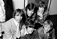 Bee Gees 1967 Maurice Gibb, Barry Gibb, Robin Gibb.Colin Petersen and Vince Melouney.© Chris Walter.