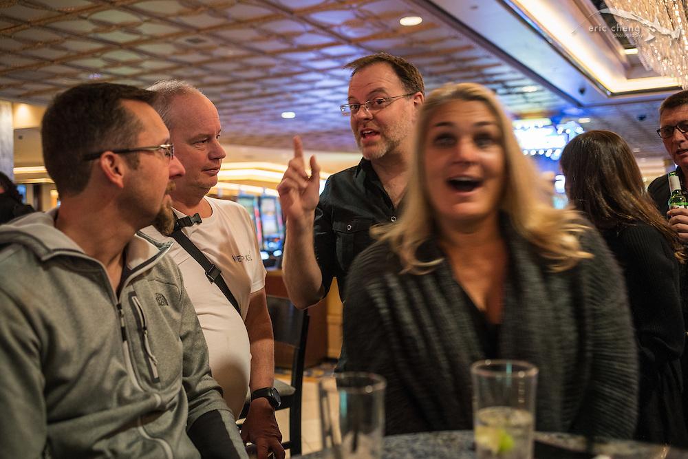 Hergen Spalink, Adam Hanlon, Jim Decker, Kerri Bingham (DEMA 2016, Las Vegas)