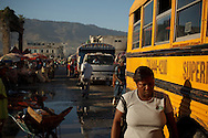 Port-au-Prince, HAITI, 19/03/2011: One year after the massive earthquake hit Haiti's capital, people try to recover their quotidian life, in the middle of a destructed city. (photo: Caio Guatelli)
