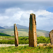 Machrie Moor Standing Stones Isle of Arran Scotland