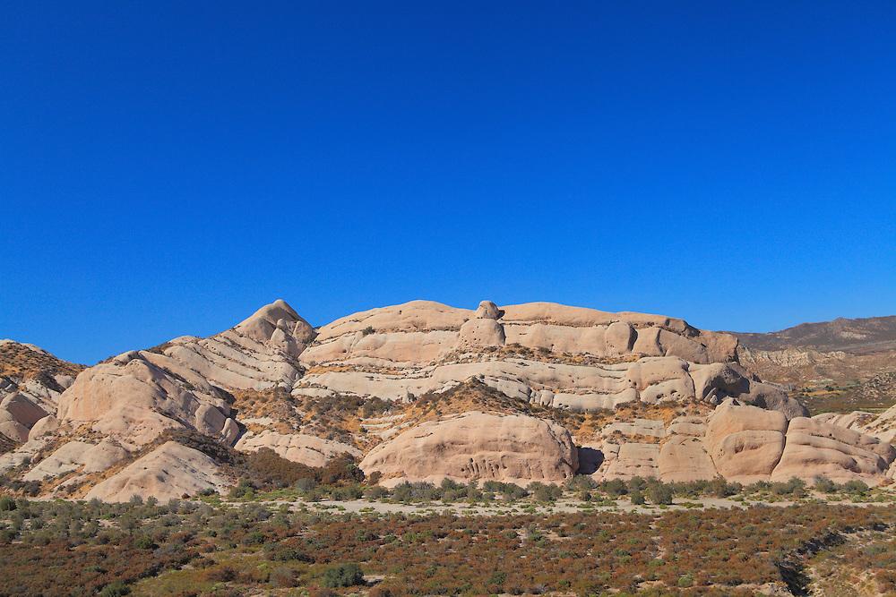 Mormon Rocks - Elevated North View