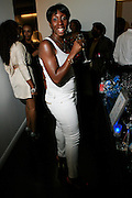 """Traceye Smith at The Bombay Sapphire & Vibe Magazine Present Ashanti's """"The Declaration"""" A Listening Party held at The W Hotel (West Street) on June 4, 2008"""