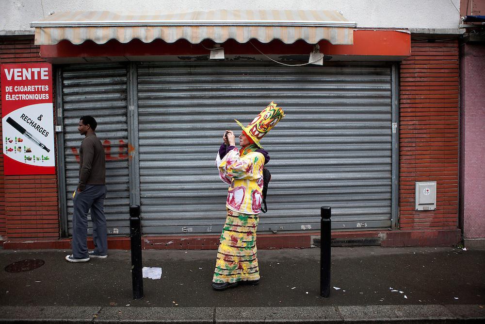 Carnaval du bas Montreuil.