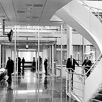 Inside UBS offices.
