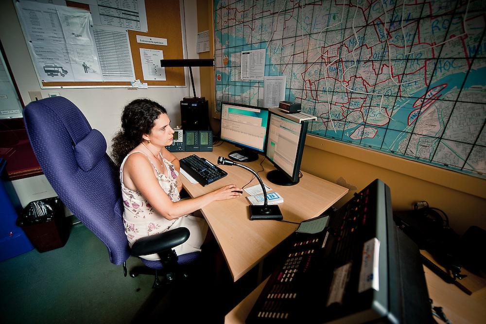 Nathalie Simard est répartiteur au transport adapté. Caroline Hayeur/ Agence Stock Photo