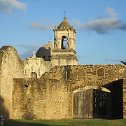Mission San José in San Antonio, Texas. Impressive architecture!
