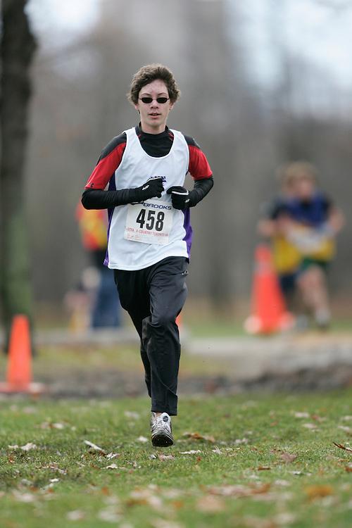 Toronto, Ontario ---16/11/08--- SAMI FORAN runs in the midget boys race at the 2008 OTFA Cross Country Championships in Toronto, Ontario, November 16, 2008. .GEOFF ROBINS Mundo Sport Images