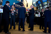 Institutional Investor's Best CFO Awards Dinner hosted by NYSE-Euronext on June 1, 2011 with reception on the trading floor in New York.