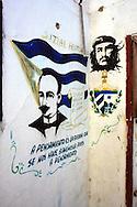 Che and Marti in Playas del Este, Havana, Cuba.
