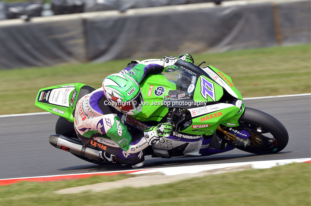 #77 James Ellison Lloyds British GBmoto Kawasaki British Superbikes