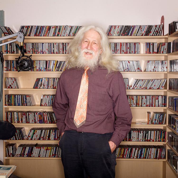 ANCHORAGE, ALASKA - 2012: Radio host Steve Heimel.