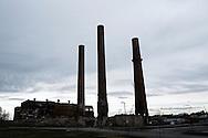 OHIO, Toledo, October 28, 2012: Dismiss factory in the outskirts of Toledo. ALESSIO ROMENZI