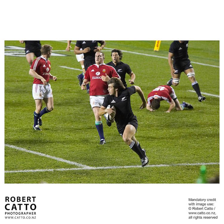 British &amp; Irish Lions;All Blacks at the British &amp; Irish Lions v. All Blacks Third Test at Eden Park, Auckland, New Zealand.<br />