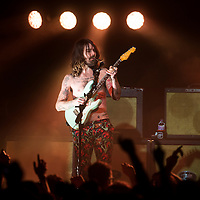 Simon Neil of Biffy Clyro performs on stage at theBarrowlands on December 7th, 2014 in Glasgow