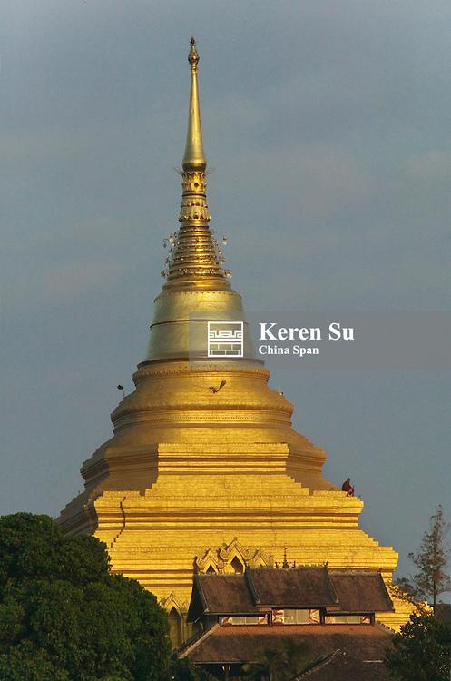 Wat Jom Kham (Zom Kham), kengtung, Myanmar