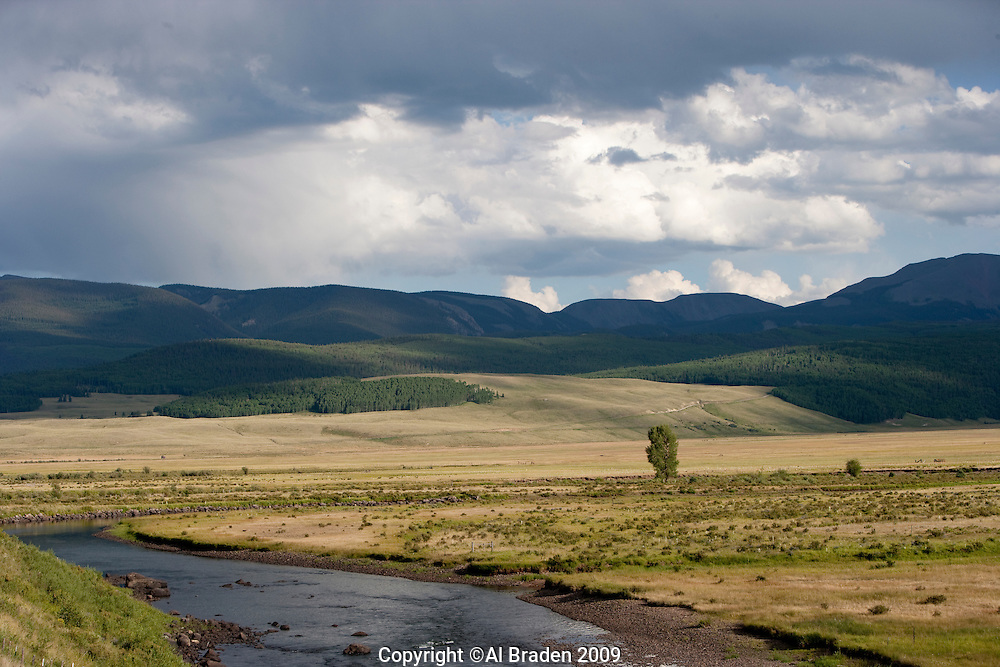 Rio Grande along Rt. 149, Mineral County, Colorado.