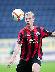 Queen of the South's Craig Reid..Falkirk 1 v 0 Queen of the South, 15/10/2011..Pic © Michael Schofield.