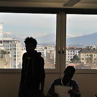 Educational centre, Servette<br /> &copy; Mark Henley / Panos Pictures