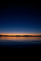 """Sunrise at Lake Tahoe 6"" - This sunrise was photographed from a boat on Lake Tahoe."