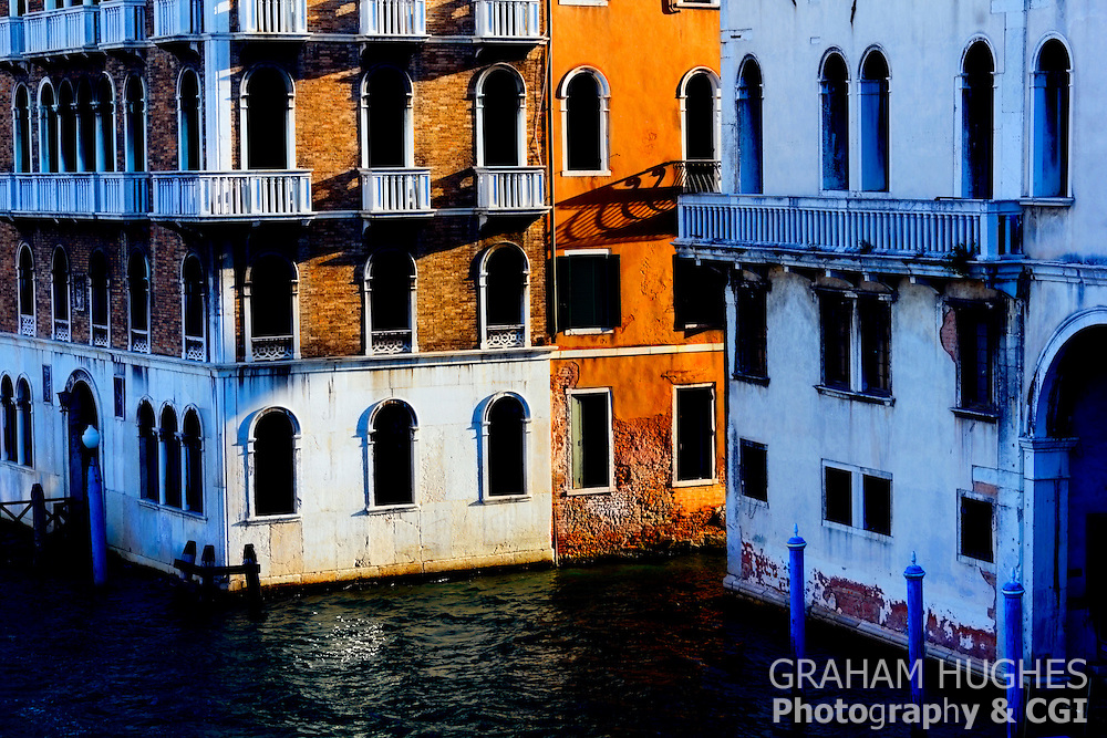 Venice, Building Detail, Grand Canal, Italy