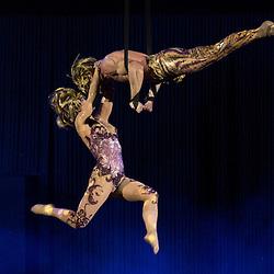 Foto Piero Cruciatti / LaPresse<br /> 14-05-2015 Milano, Italia<br /> Spettacolo<br /> Anteprima dello spettacolo ALLAVITA! del Cirque Du Soleil a Expo 2015 <br /> Nella Foto: Anteprima dello spettacolo ALLAVITA! del Cirque Du Soleil a Expo 2015<br /> <br /> Photo Piero Cruciatti / LaPresse<br /> 14-05-2015 Milan, Italy<br /> Entertainment<br /> Preview of the Cirque du Soleil show ALLAVITA! at Expo Milan 2015  <br /> In the Photo: Preview of the Cirque du Soleil show ALLAVITA! at Expo Milan 2015 Cirque du Soleil AllaVita! for Expo 2015 in Milan<br /> <br /> Cirque du Soleil AllaVita! per Expo 2015 Milano