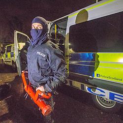 Police Scotland raid 8/12/2015