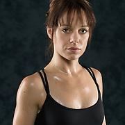 Model, makeup: Rachel Cornejo; <br /> Hair: Louise Peacock; <br /> Assistant: Anique Alletson