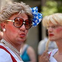 UK. London. Europride 2006 Gay parade through central London. .Photo©Steve Forrest/Workers' Photos